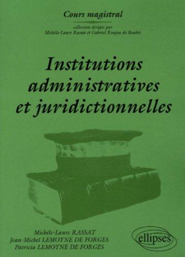 Institutions…